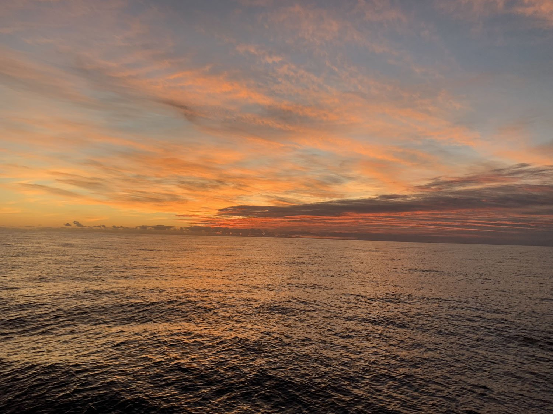 san diego fishing sunset